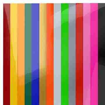 Arteza Wärmeübertragung Vinylfolie, 25.4 x 30.5cm (10 x 12 Zoll), Packung mit 14 Heat Transfer Vinylblättern, vielseitige Plotterfolie, Vinyl Papier für Hitzedruck-Transfer von Bügelbildern - 7