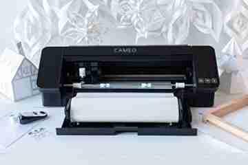Silhouette Cameo 4 - AutoBlade Schneidematte, Schwarz, 30.5 cm - 3